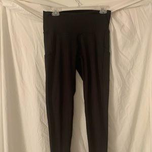Black Aerie leggings - worn once!